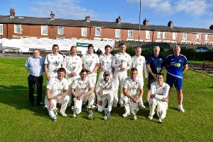 Lancashire League Division Two champions Colne CC
