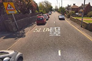 James Taylor failed to stop and drove at 60 mph over speed bumpsin a 20mph zoneon Rein Road atTingley.''Image: Google