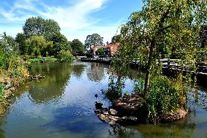 The village pond is Walkington's focal point. Picture by Gary Longbottom.