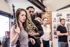 Assassins Rehearsal Photos'Nottingham playhouse ''Watermill Theatre ''�The Other Richard