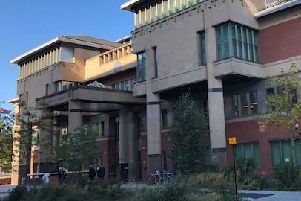 Pictured is Sheffield Crown Court.