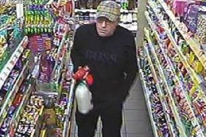 Police have released images of a man they would like to speak to in connection with the use of stolen bank cards