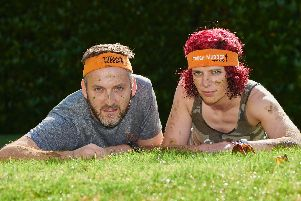 Tim is raising 1000 for charity in a bid to convince wife Claire to join him in this years Tough Mudder challenge.