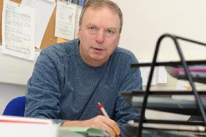 Colin Hampton has been a coordinator for Derbyshire Unemployed Workers' Centre for almost 35 years.