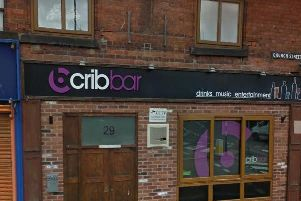 The Crib bar on Church Street in Ripley, Derbyshire. Photo: Google.
