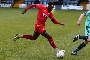 Amari Morgan-Smith netted the winner for Alfreton.
