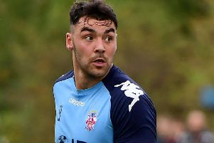 Joe Walton scored twice as Liversedge came from 3-0 down to beat Handsworth 4-3 on Tuesday.