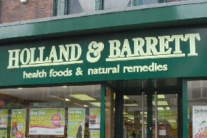 A Holland and Barrett store.