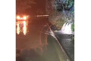 Derbyshire Fire tweeted this from Bakewell last night.