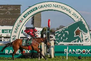 Tiger Roll romps to victory in last year's Randox Health Grand National at Aintree.