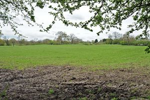 Land to the rear of Birchwood Lane, Somercotes, which is earmarked for development.