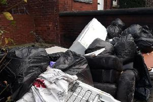 Flytipping in the Bayswaters, Harehills