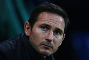 Frank Lampard knows Derby County chucked away two valuable points. (Photo by Alex Livesey/Getty Images)