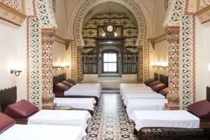 Harrogate Borough Council will apply for a licence to sell alcohol at the Turkish Baths.