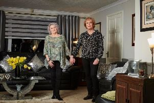 Julie and Jackie are pictured. Photo: Channel 4.