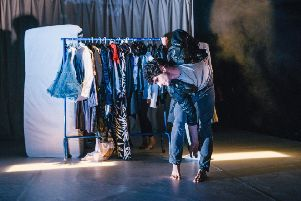 Velvet Petal, Scottish Dance Theatre + CEPRO. Dundee Rep Theatre, July 2016