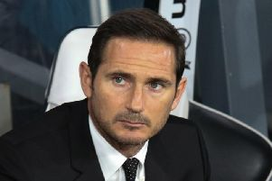 Frank Lampard oversaw a goalless draw with Stoke.
