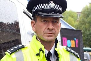 Former Derbyshire police Chief Superintendent, Graham McLaughlin.