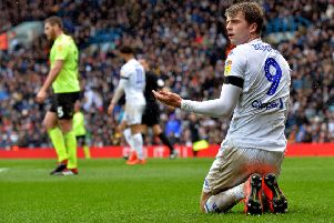 Leeds United striker Patrick Bamford looks likely to join the Ireland international set-up in the summer. PIC: Bruce Rollinson