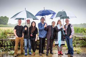 Steeleye Span. Photo by Peter Silver.