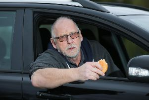 Ian Chapman was fined after feeding birds part of his McDonald's McMuffin