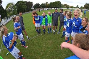 Chesterfield Ladies FC (Pic: Tina Jenner)