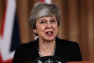 Theresa May has spoken out against the attackers