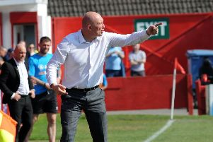 Billy Heath was delighted with his team's performance at Telford.