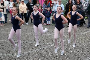 Ripley Academy of Dance put on a performance for a delighted crowd.
