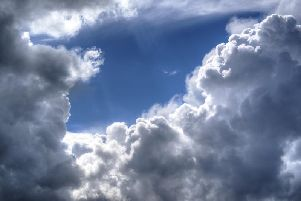 Cloud will spread east through the day, with outbreaks of rain developing