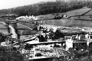 A train departs from Ambergate for Buxton.