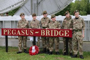 Derbyshire Army Cadets visited France to learn about D-Day.