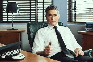 Rob Lowe turned up in new drama Wild Bill this week