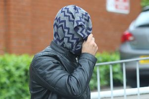 Ali El-Aridi, 23, of Stubbin Lane, Sheffield, leaves Chesterfield magistrates' court on bail last week after he was found guilty of two counts of possessing extreme pornography including a horse and a dead cat.