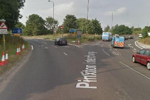Junction 28 northbound slip road will be closed overnight.