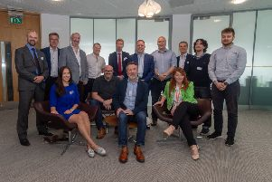 Date: 27th June 2019.'Picture James Hardisty.'Business Breakfast event roundtable on technology held at Womble Bond Dickinson, 1 Whitehall Rd, Riverside, Leeds.