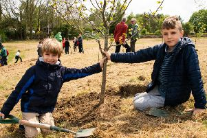 The Woodland Trust has completed its purchase of land near Shipley Country Park which will be planted as the UK's first Young People's Forest.
