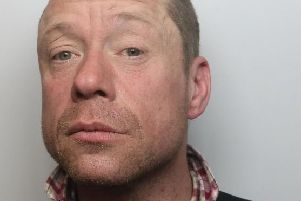 Pictured is Daniel Lee Parkes, 42, of no fixed abode, who has been jailed at Chesterfield magistrates' court after he admitted repeatedly breaching a Criminal Behaviour Order.