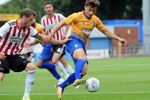Otis Khan in Stags action.