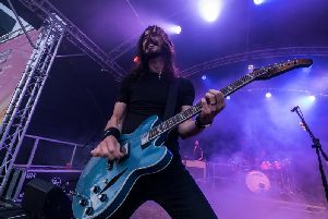 Playing Harrogate Fan Zone - Harrogates mighty UK Foo Fighters featuring Jay Apperley.