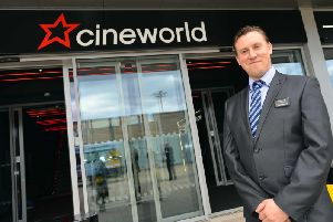 Nick Bashford, Cineworld York general manager. Picture: Stu Norton.