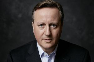 Former Prime Minister David Cameron is preparing to come to Harrogate this week to talk about his new book.