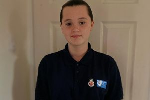Mya Worden is a police cadet and gives up all of her spare time to volunteer.