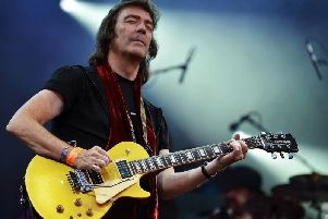 Still creative, still adventurous - Ex-Genesis guitarist and songwriter Steve Hackett.