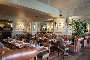 The new-look bistro at Hotel du Vin Harrogate which is launched this week.