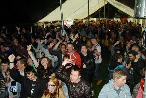 Fans at one of the UK's popular Fake Festivals of top tribute acts.