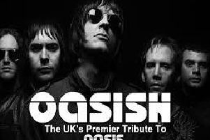 Coming to Harrogate this summer - Top tribute band Oasish.