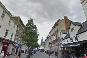 A cannabis farm was found in the middle of Doncaster town centre yesterday
