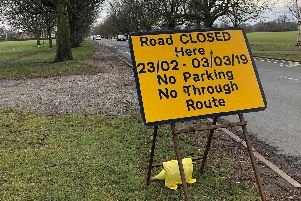 More roadworks signs and more traffic disruption is on its way for Harrogate.