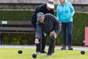 Mytholmroyd BC's Clive Austin will play on his home green